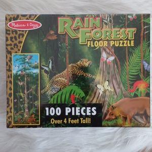 Melissa & Doug Rainforest Floor Puzzle